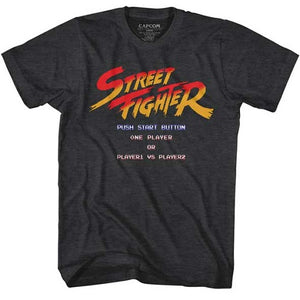 MEN'S STREET FIGHTER START SCREEN LIGHTWEIGHT TEE