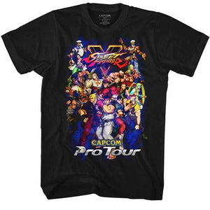 MEN'S STREET FIGHTER PRO TOUR 2 LIGHTWEIGHT TEE