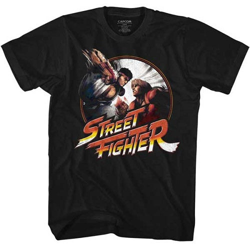 MEN'S STREET FIGHTER PUNCHY TEE