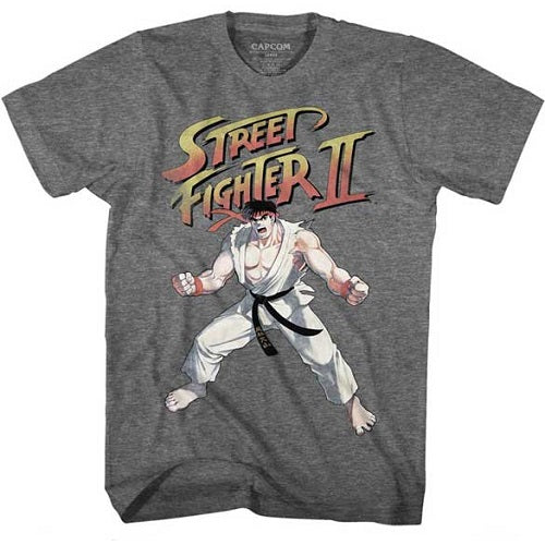 MEN'S STREET FIGHTER RYU LIGHTWEIGHT TEE