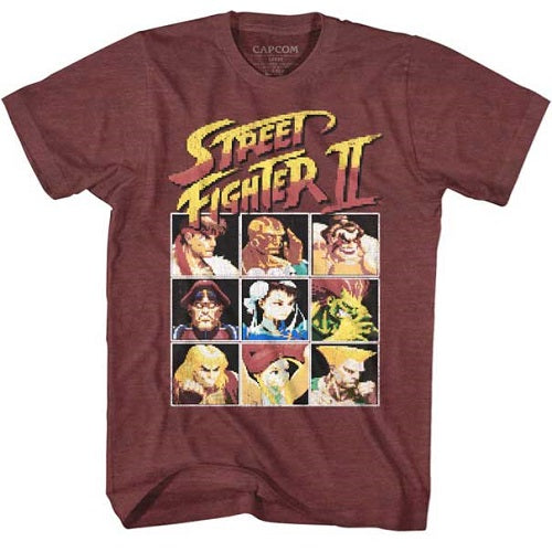 MEN'S STREET FIGHTER 8BIT LIGHTWEIGHT TEE