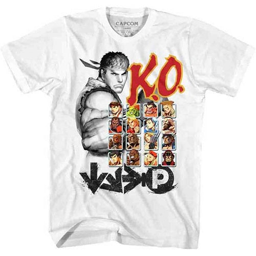 MEN'S STREET FIGHTER KO2 LIGHTWEIGHT TEE