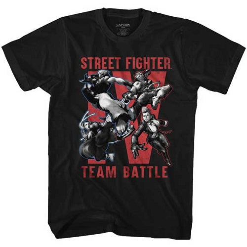 MEN'S STREET FIGHTER TEAM BATTLE TEE