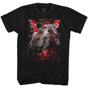 MEN'S STREET FIGHTER SMOKY V LIGHTWEIGHT TEE