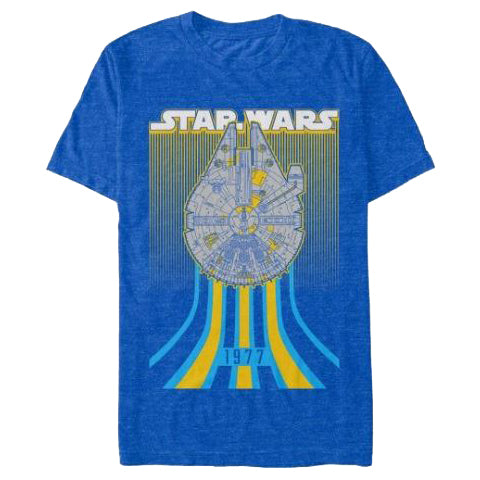Men's Star Wars Millennium Falcon 1977 Tee