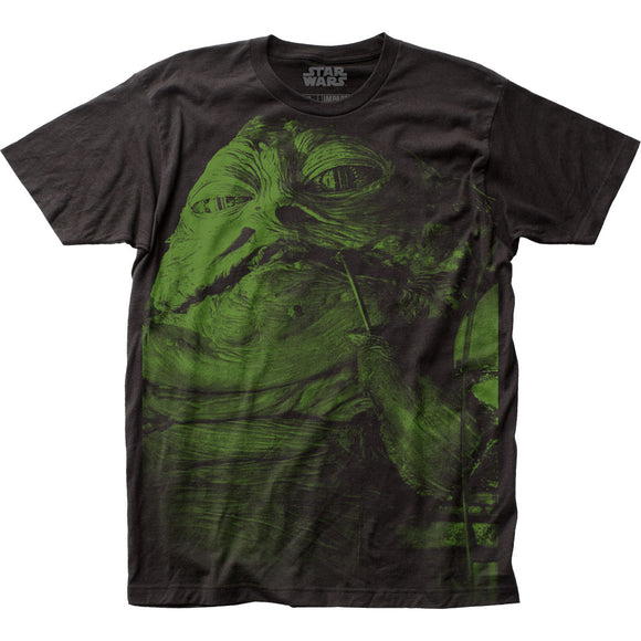 Men's Star Wars Jabba The Hut Big Print Tee