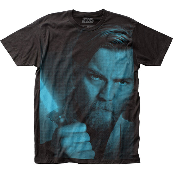 Men's Star Wars Obi-Wan Kenobi Big Print Tee