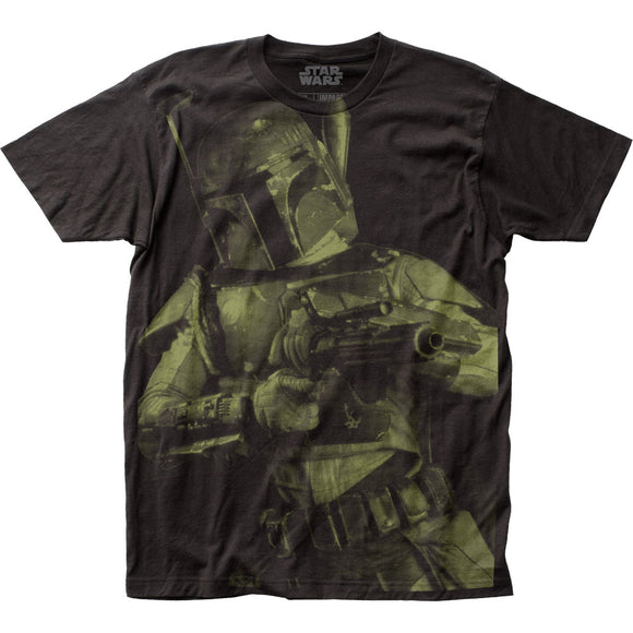 Men's Star Wars Boba Fett Big Print Tee