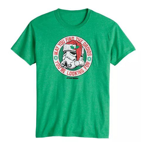 Men's Star Wars Storm Trooper Santa T-Shirt