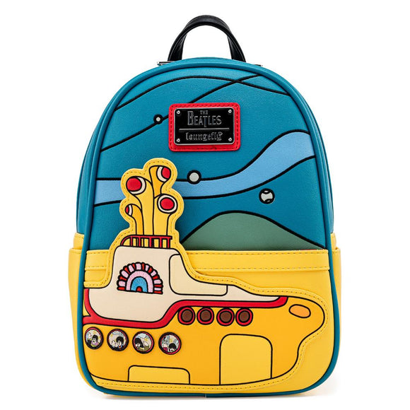 Loungefly The Beatles Yellow Submarine Mini Backpack - Preorder