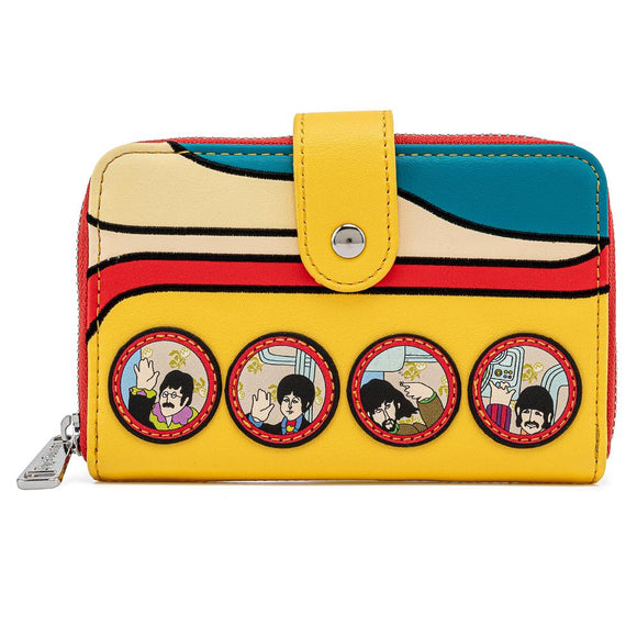 Loungefly The Beatles Yellow Submarine Wallet - Preorder