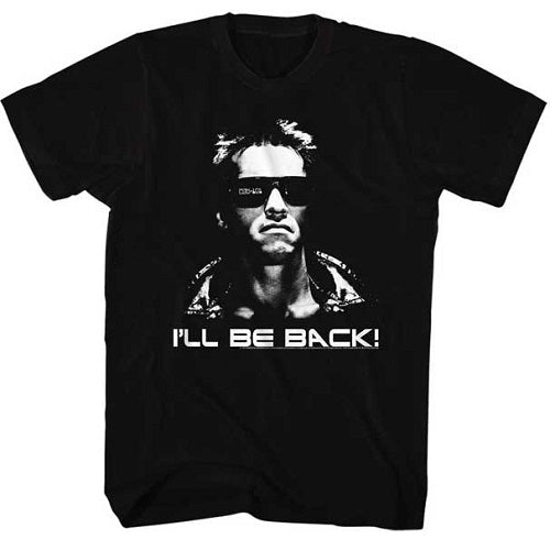 MEN'S THE TERMINATOR I'LL BE BACK TEE