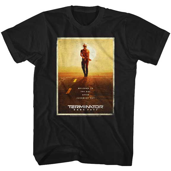 MEN'S TERMINATOR: DARK FATE POSTER TEE