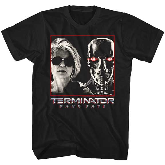 MEN'S TERMINATOR: DARK FATE SARAH & REV9 TEE