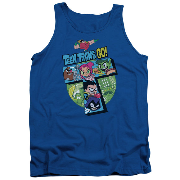 MEN'S TEEN TITANS GO! T TANK TOP