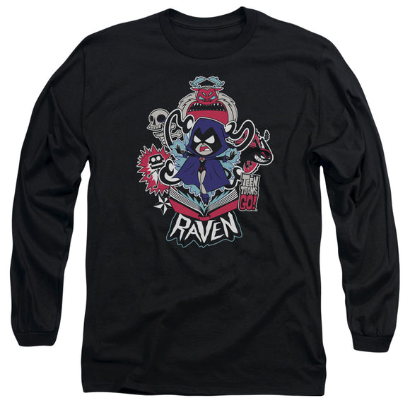 MEN'S TEEN TITANS GO! RAVEN LONG SLEEVE TEE