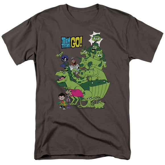 Men's Teen Titans Go! Beast Boy Stack T-Shirt