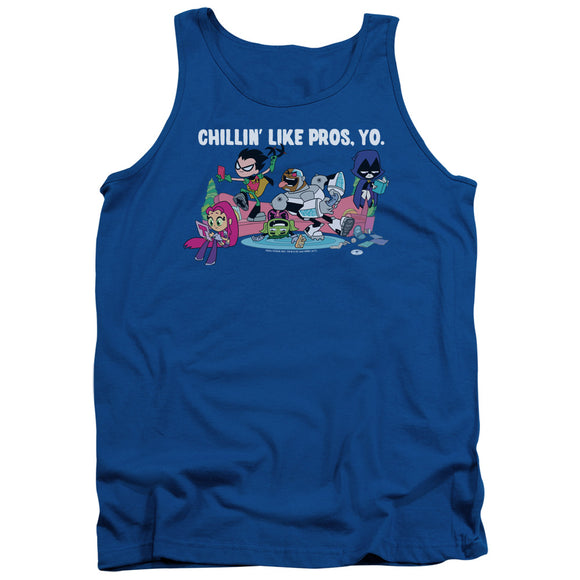 MEN'S TEEN TITANS GO! LIKE PROS YO TANK TOP