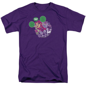 MEN'S TEEN TITANS GO! YAY TEE