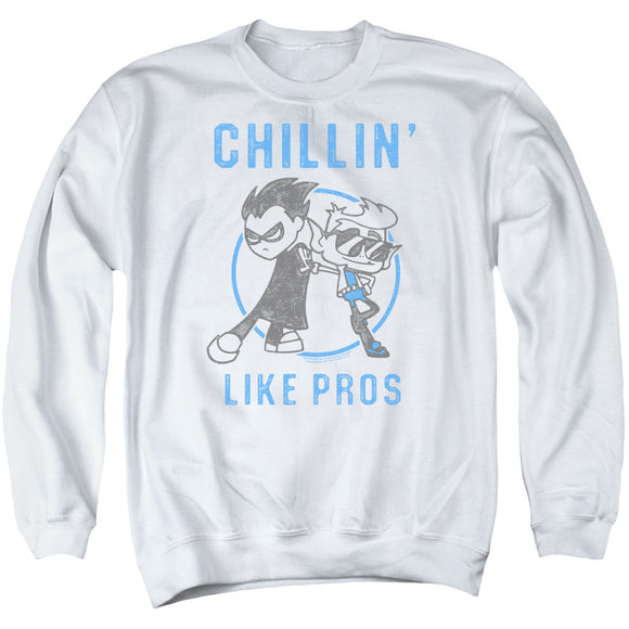 MEN'S TEEN TITANS GO! LIKE PROS CREWNECK SWEATSHIRT