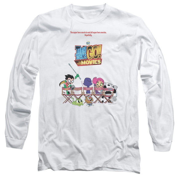 MEN'S TEEN TITANS GO! POSTER LONG SLEEVE TEE