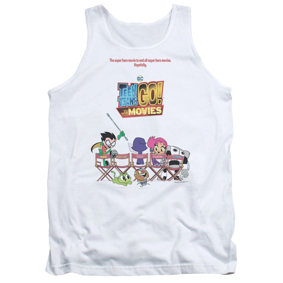 MEN'S TEEN TITANS GO! POSTER TANK TOP