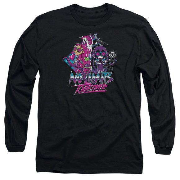 MEN'S TEEN TITANS GO! NO LIMITS LONG SLEEVE TEE