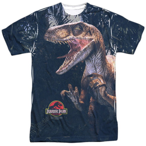 MEN'S JURASSIC PARK RAPTORS SUBLIMATED TEE