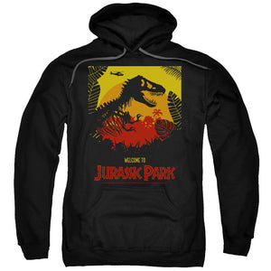 MEN'S JURASSIC PARK WELCOME TO JP PULLOVER HOODIE