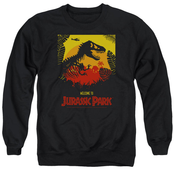 MEN'S JURASSIC PARK WELCOME TO JP CREWNECK SWEATSHIRT