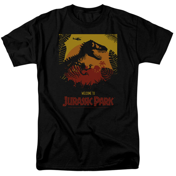 MEN'S JURASSIC PARK WELCOME TO JP TEE