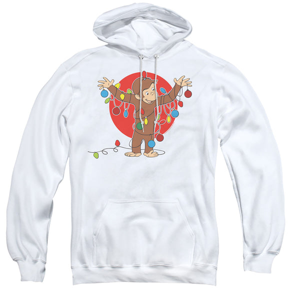 MEN'S CURIOUS GEORGE LIGHTS PULLOVER HOODIE