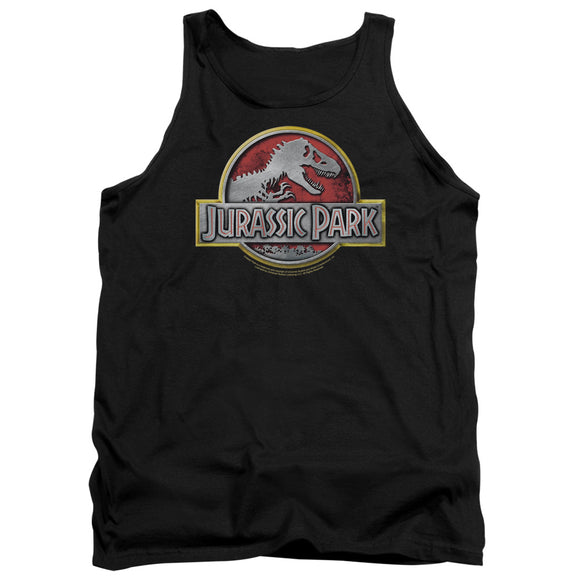 MEN'S JURASSIC PARK LOGO TANK TOP
