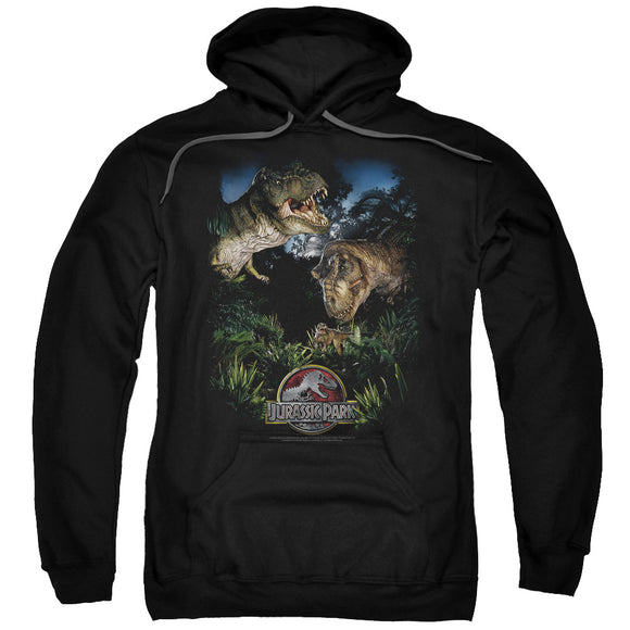 MEN'S JURASSIC PARK HAPPY FAMILY PULLOVER HOODIE
