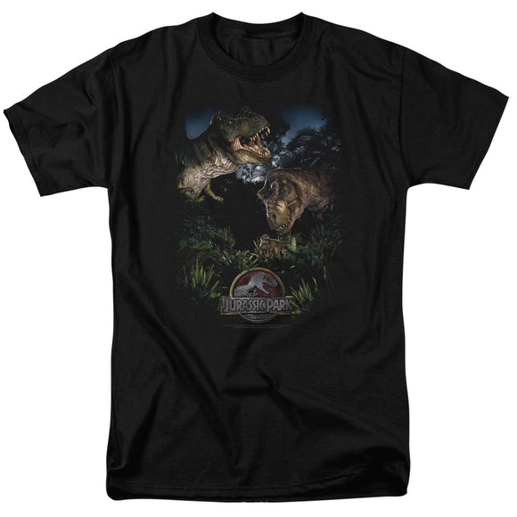 MEN'S JURASSIC PARK HAPPY FAMILY TEE