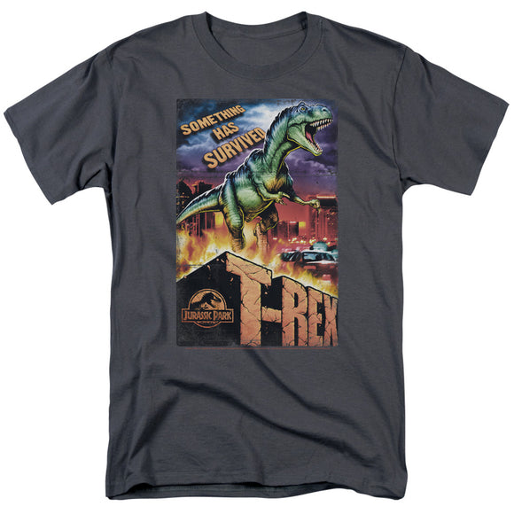 MEN'S JURASSIC PARK REX IN THE CITY TEE