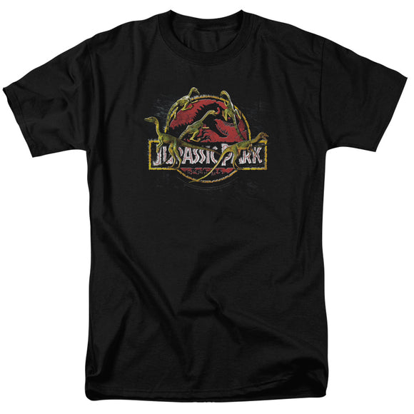 MEN'S JURASSIC PARK SOMETHING HAS SURVIVED TEE