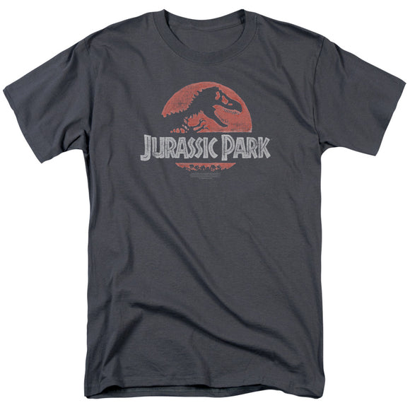 MEN'S JURASSIC PARK FADED LOGO TEE