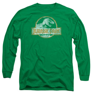 MEN'S JURASSIC PARK JP ORANGE LONG SLEEVE TEE