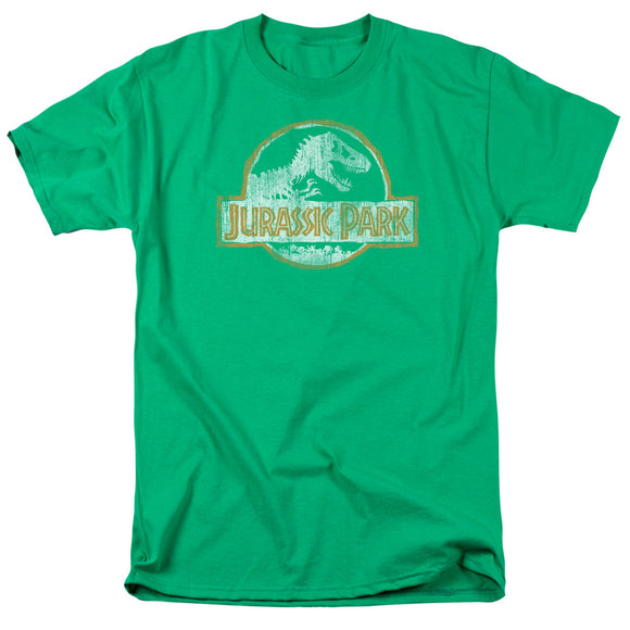 MEN'S JURASSIC PARK JP ORANGE TEE