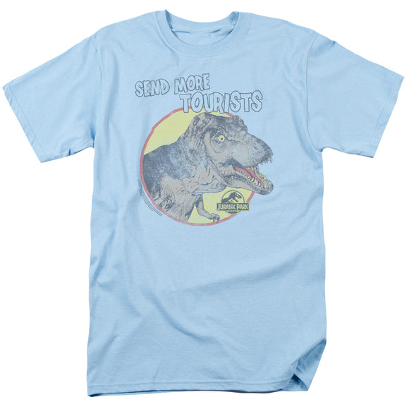 MEN'S JURASSIC PARK SEND MORE TOURISTS TEE
