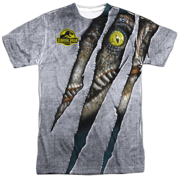 MEN'S JURASSIC PARK LIVE RAPTOR SUBLIMATED TEE