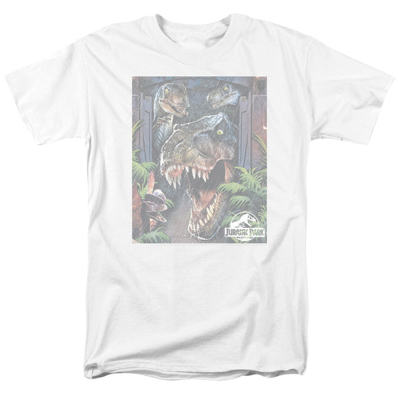 MEN'S JURASSIC PARK GIANT DOOR TEE