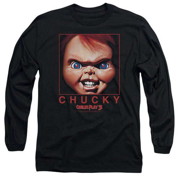 MEN'S CHILDS PLAY 3 CHUCKY SQUARED LONG SLEEVE TEE