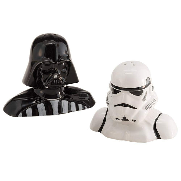 Star Wars Darth Vader & Stormtrooper Sculpted Salt & Pepper Set