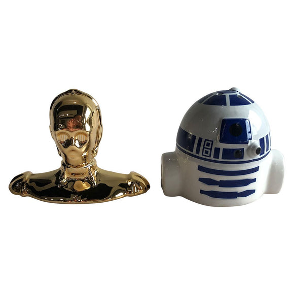 Star Wars R2-D2 & C-3PO Sculpted Ceramic Salt & Pepper Set