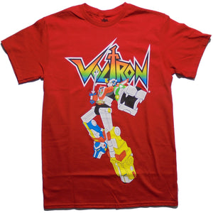 MEN'S VOLTRON 80'S CARTOON TEE - Blue Culture Tees
