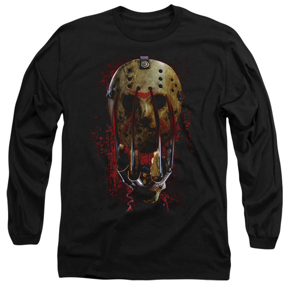 MEN'S FREDDY VS JASON CLAWS LONG SLEEVE TEE