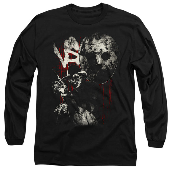 MEN'S FREDDY VS JASON SCRATCHES LONG SLEEVE TEE