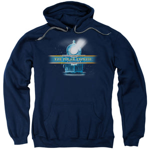 MEN'S POLAR EXPRESS TRAIN LOGO PULLOVER HOODIE